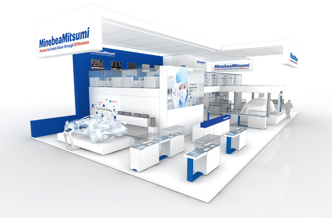 image : Image of the MinebeaMitsumi Booth