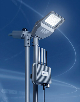 Photo 1:High-efficiency LED street light with wireless function
